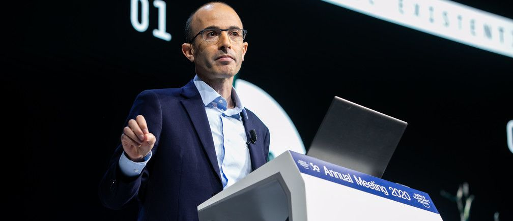 Yuval Harari's blistering warning to Davos