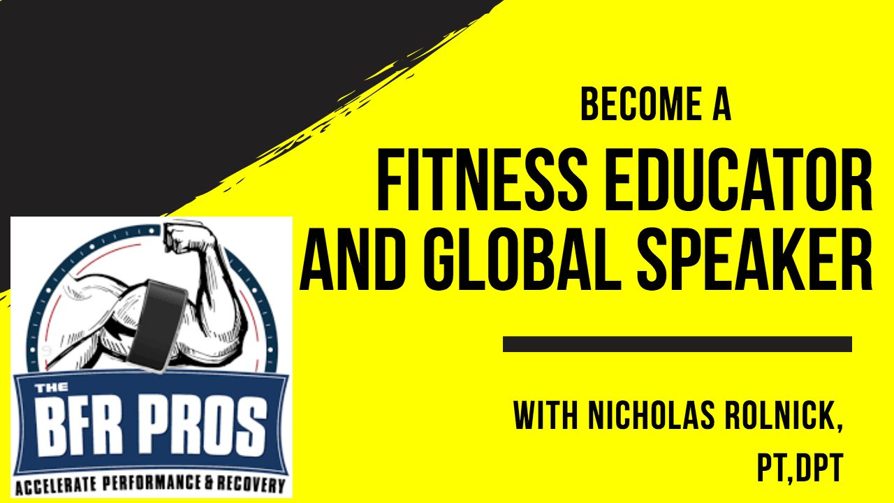 How to become a fitness educator and healthcare entrepreneur