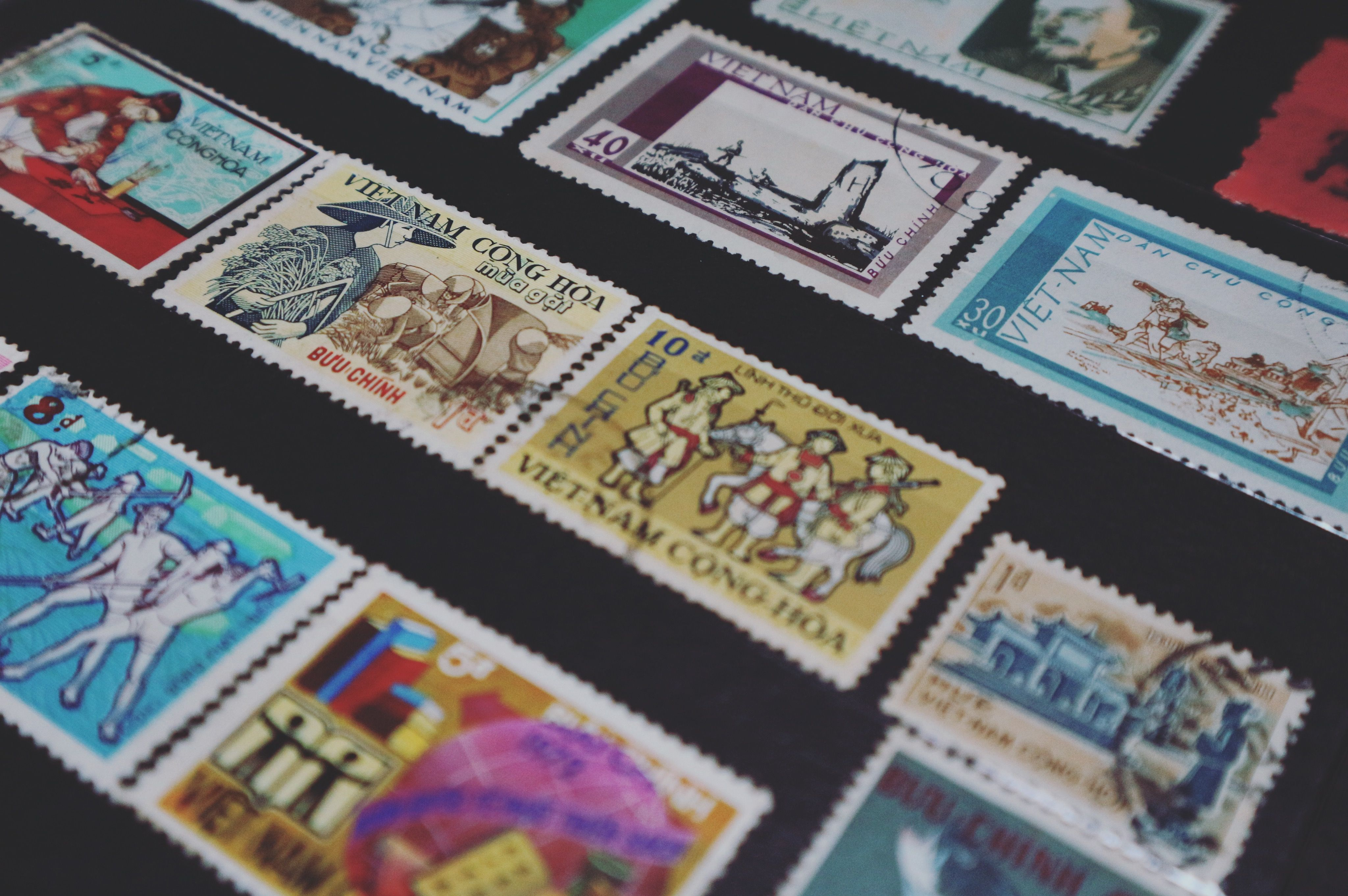 Philately as a hobby