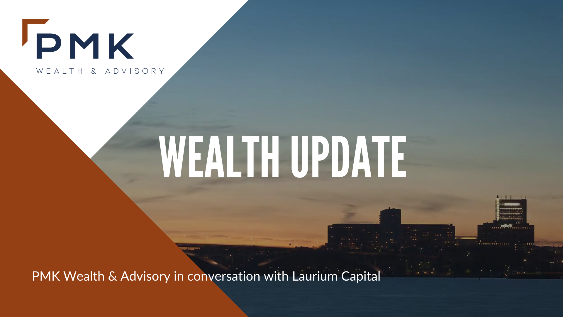 PMK Wealth & Advisory in conversation with Laurium Capital
