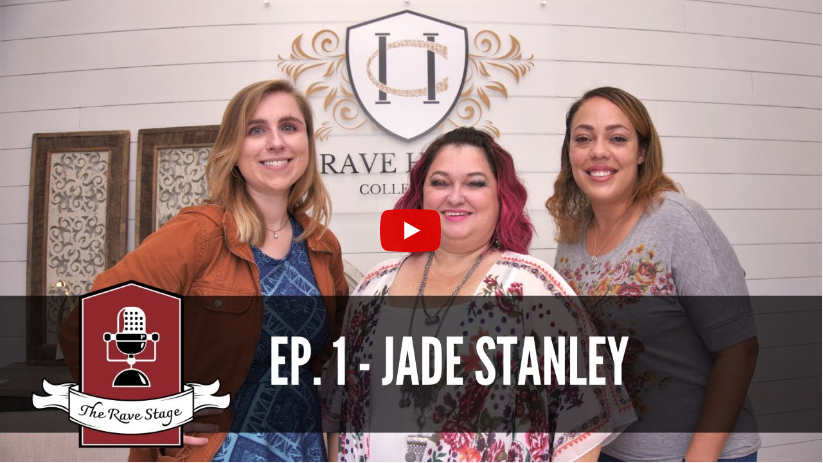 The Rave Stage & Jade Stanley, CEO of All About You Staffing