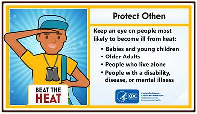 Heat Illnesses - Protect Others