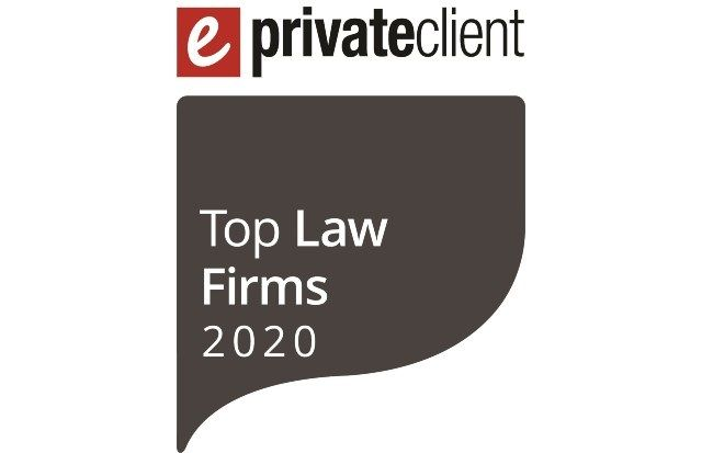 The Burnside Partnership is again recognised as one of eprivateclient's Top Law Firms