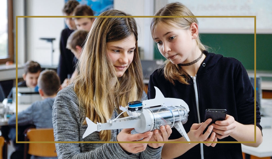 Empowering girls and women in digitalization and Industry 4.0