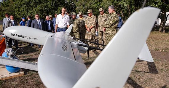 President of Ukraine Petro Poroshenko highly rated PD-1 UAS!