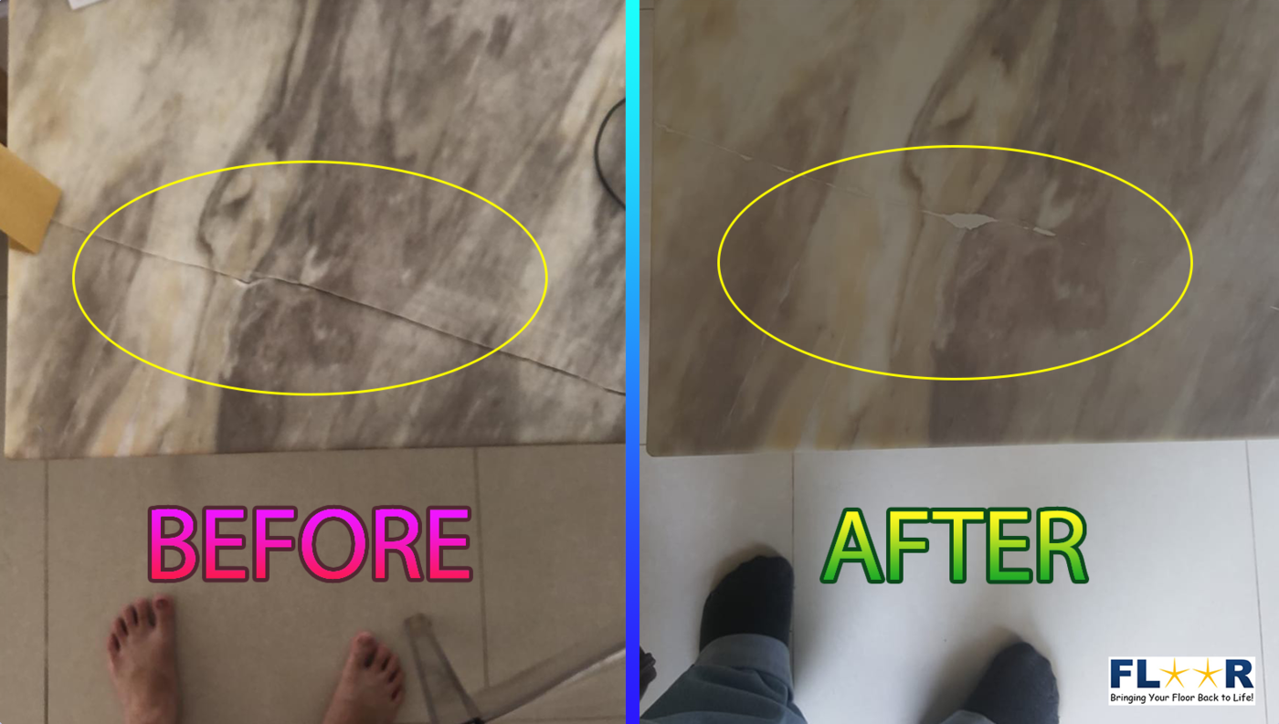 How to fix a broken tile?