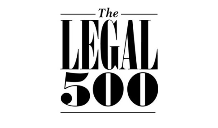 "LAW FIRM ""JURLINE"" IN LEGAL 500"