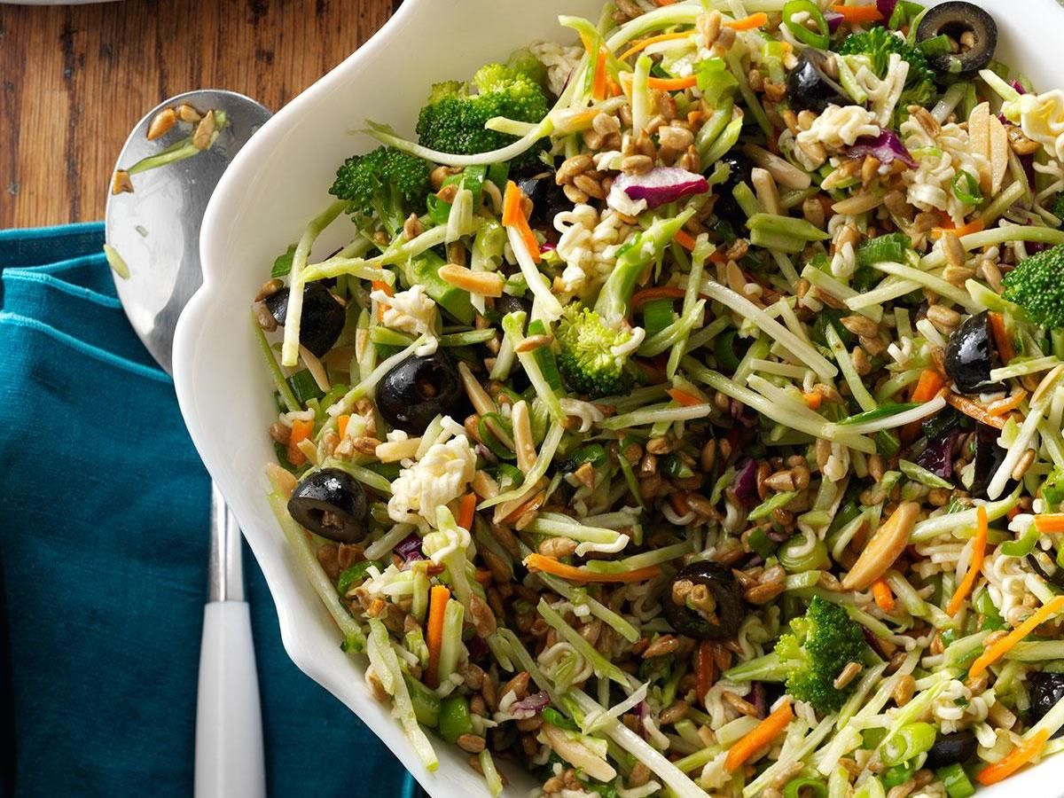 Nutty Broccoli Salad