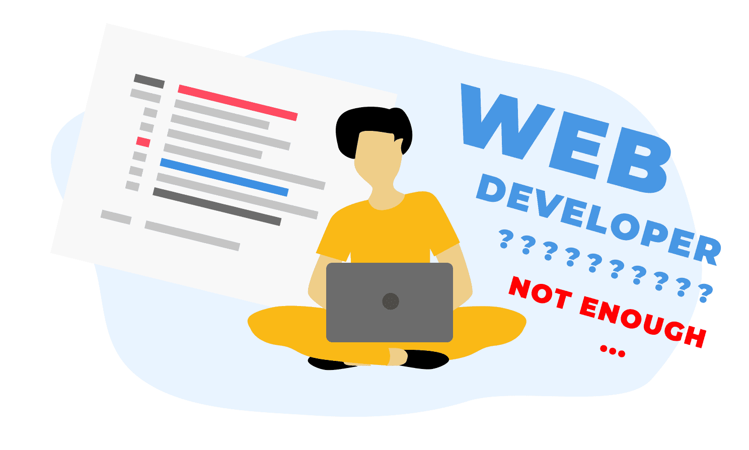 Why it is no longer enough just to be a web developer