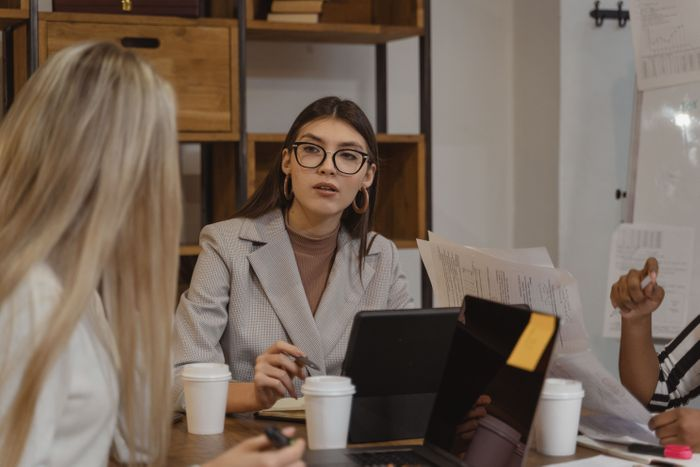A face-to-face conversation is synchronous communication. It's very useful to make agreements, but can also lead to a loss of concentration and productivity