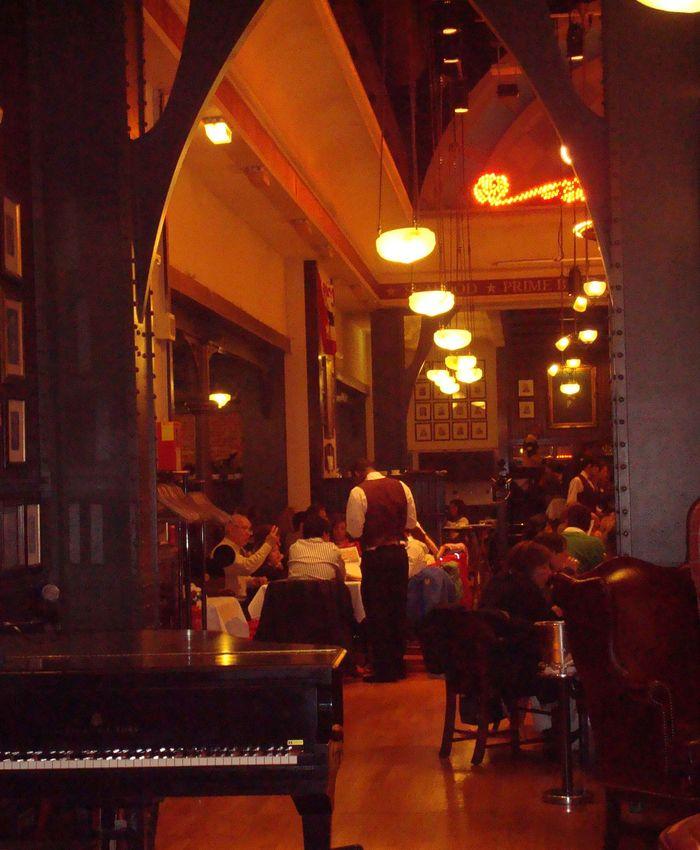 Restaurante temático de Disney.