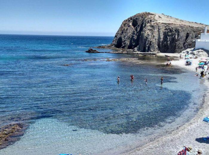 Isleta del Moro, Parque Natural de Cabo de Gata en Almería.