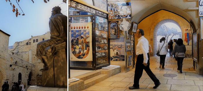 Desde la tumba del rey David hasta la Explanada de las Mezquitas, vas atravesando toda la ciudad Vieja. Aquí descubrirás muchas costumbres a las nuestras