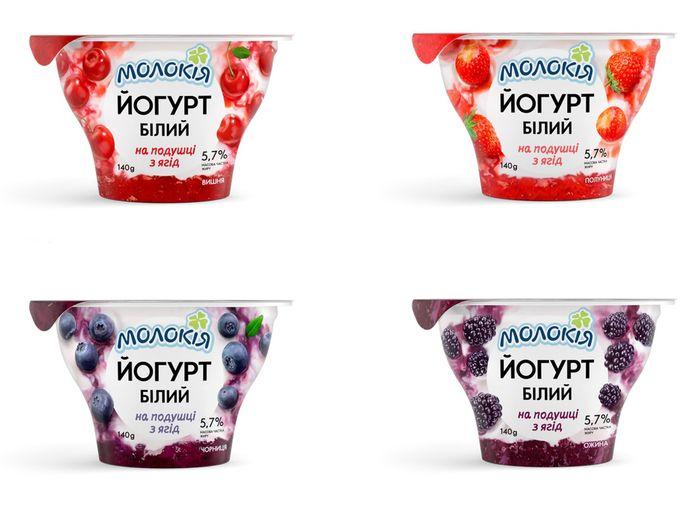 Результат дистанционной съемки - упаковка для новой линейки йогуртов ТМ