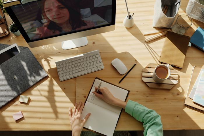 Remote work office, the new normal