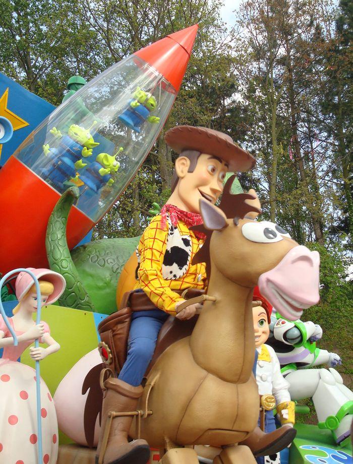 Personajes de Toy Story en la gran Cabalgata.