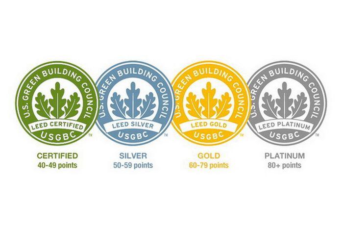 Знак сертификации по системе экостандартаLEED®
