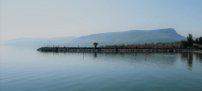 El Mar de Galilea es un mar de serenidad. Puede que por eso sus aguas sean tan dulces