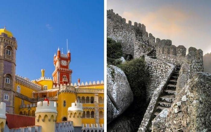 SINTRA. Palacio Da Pena y Castillo de los Moros