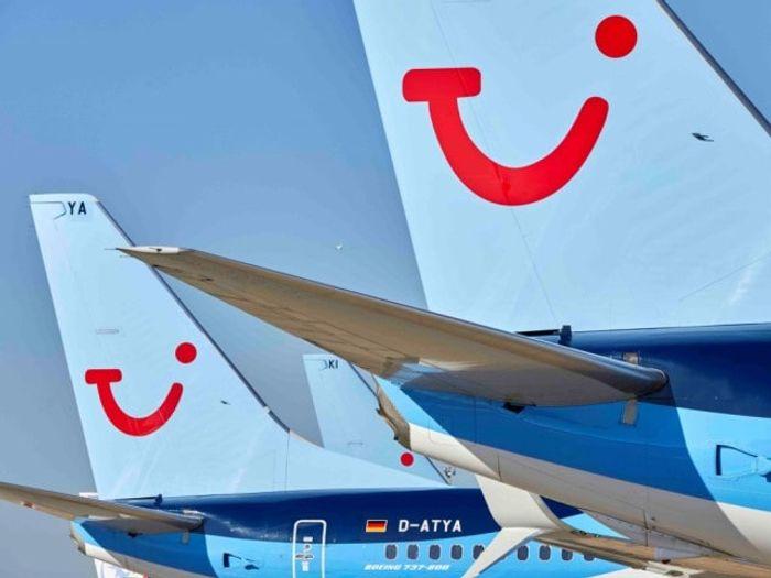 Авиакомпания TUI Fly транспортный отдел оператораTUI. Фото