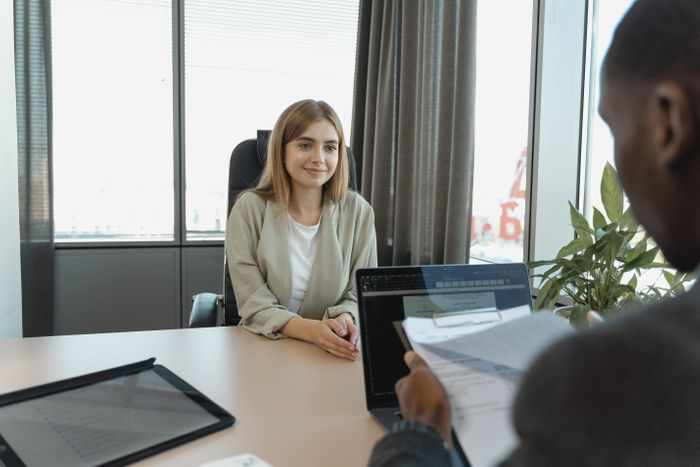Being honest is essential. Even if it makes you feel vulnerable, that's what will help the interviewer understand your the situation and the value of your growth path