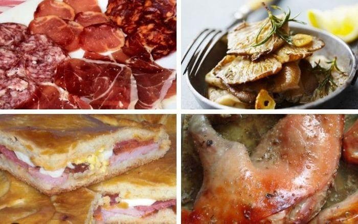 Gastronomía típica en el Parque de las Batuecas-Salamanca