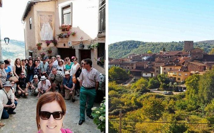 MIRANDA DEL CASTAÑAR, el pueblo medieval de la Sierra de Francia