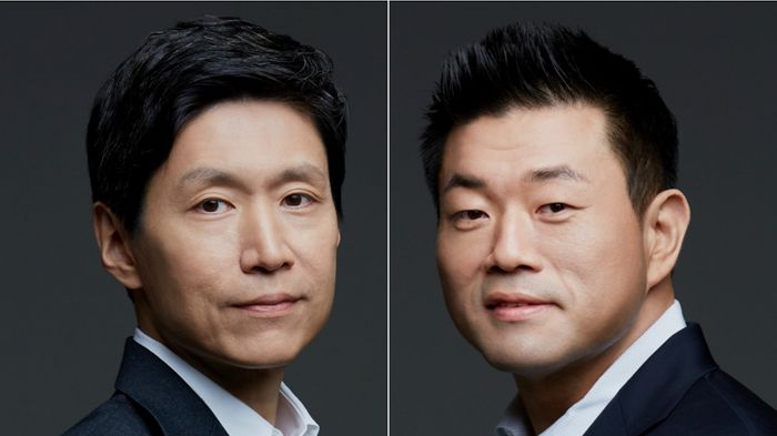 Lee Young Han andJustin Choi, both former GMs of Lotte MediaWorks (previously Lotte Cinema)