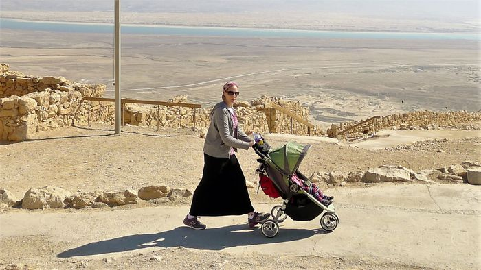 Escena de la vida en Israel