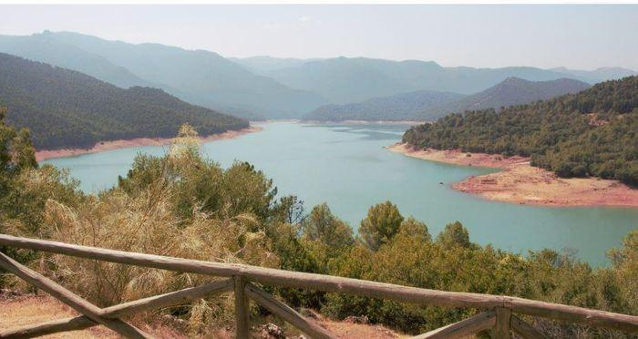 Pantano del Tranco, en el Parque Natural de Cazorla.