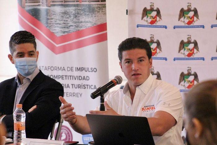 Candidato del Partido Movimiento Ciudadano, Samuel García.