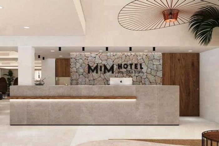 Ресепшен отеля Лео Месси. фото
