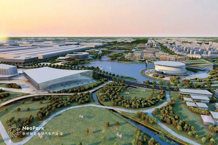 NIO официально начала строительство собственной гигафабрики © nio.com