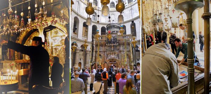 El momento en el que todas las religiones cristianas andan unidas en Jerusalén