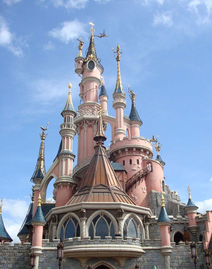 Castillo de la Bella Durmiente.